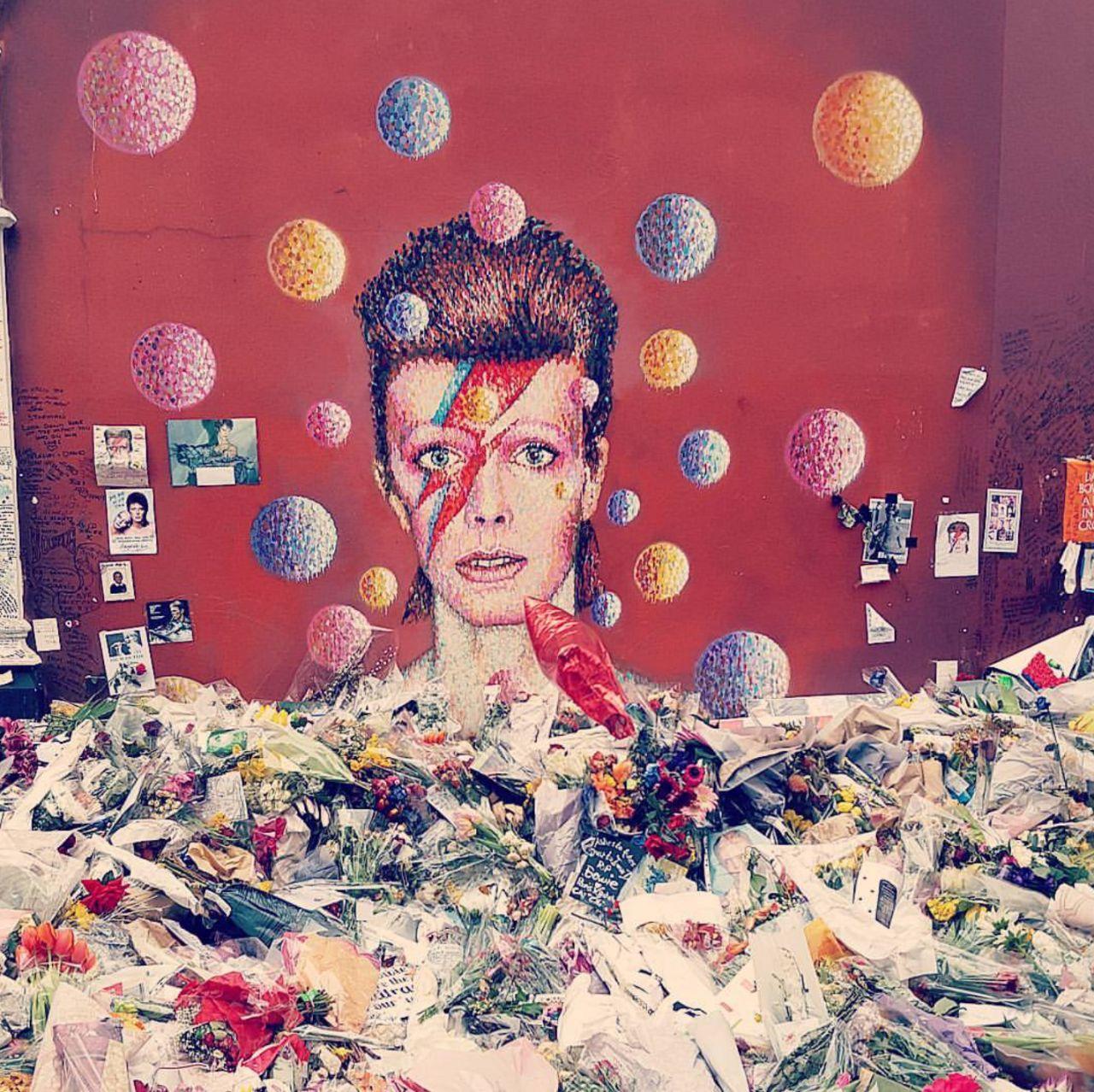 David Bowie en Brixton