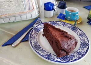 Tarta de chocolate Can Pepa. Formentera © Propiedad de Fly and Grow