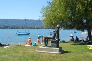 Lago de Zürich donde bañarse en Suiza