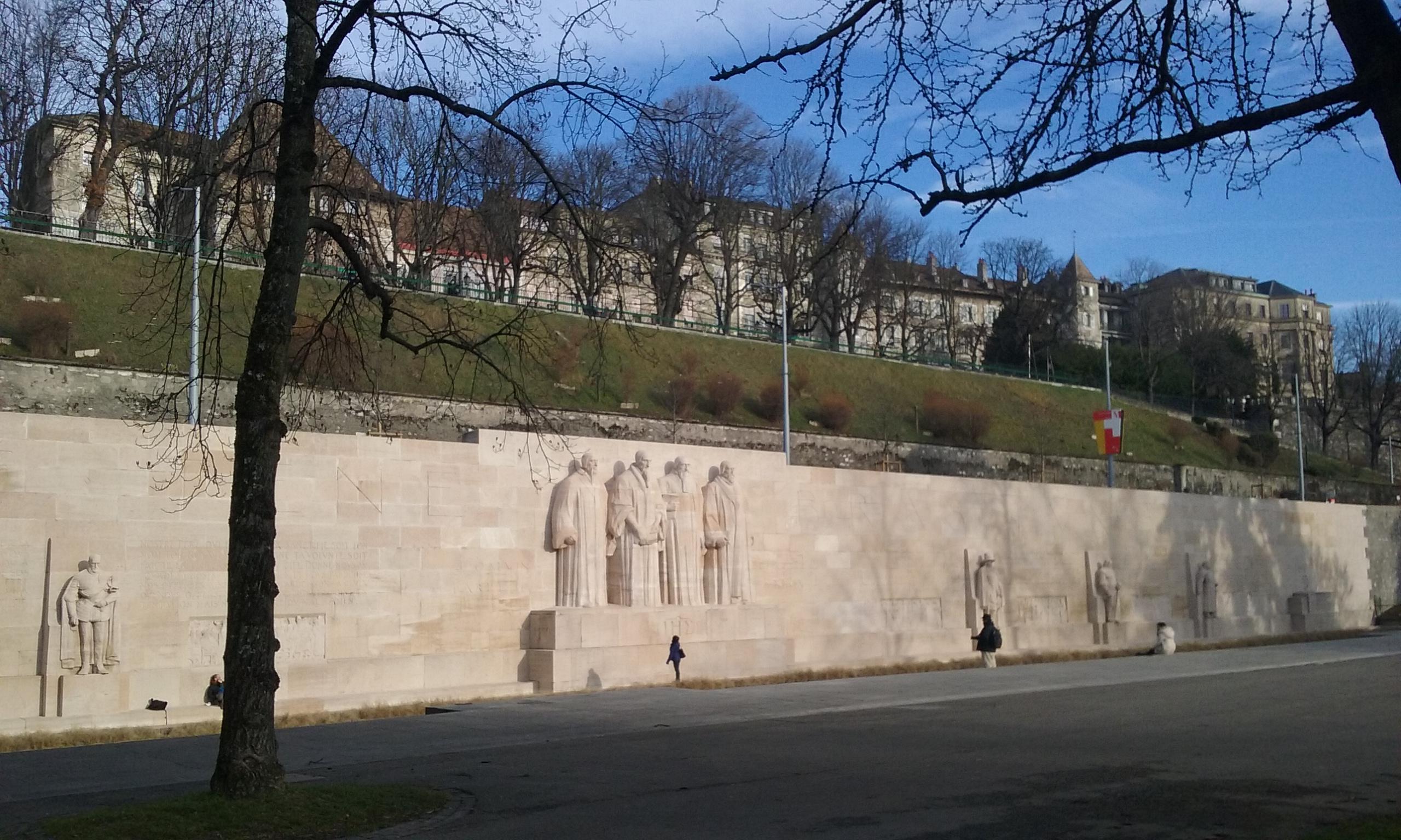 Memorial de la Reforma en Ginebra.© Propiedad de Fly and Grow