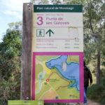 rutas Parque Mondragó