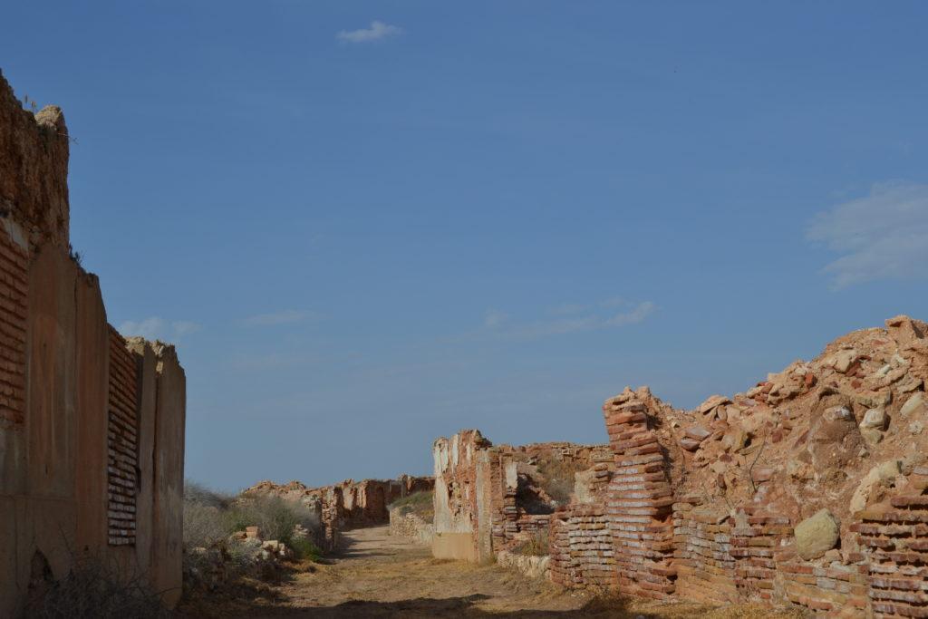 Calle de Belchite viejo
