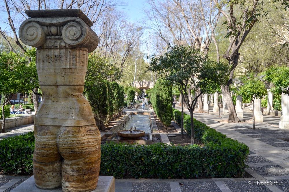 Jardines de la Almundaina en Palma de Mallorca