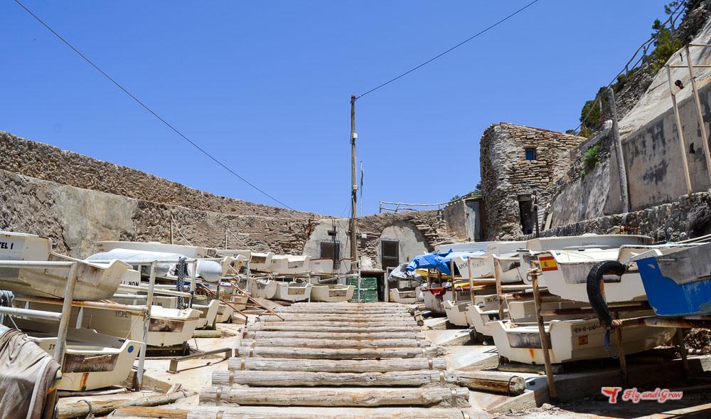 Embarcadero de Cala Banyalbufar