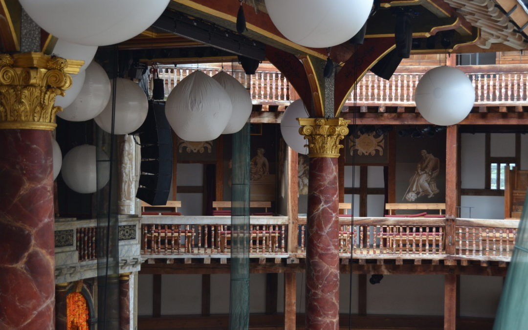 Shakespeare in Love en la visita el Shakespeare's Globe en Londres