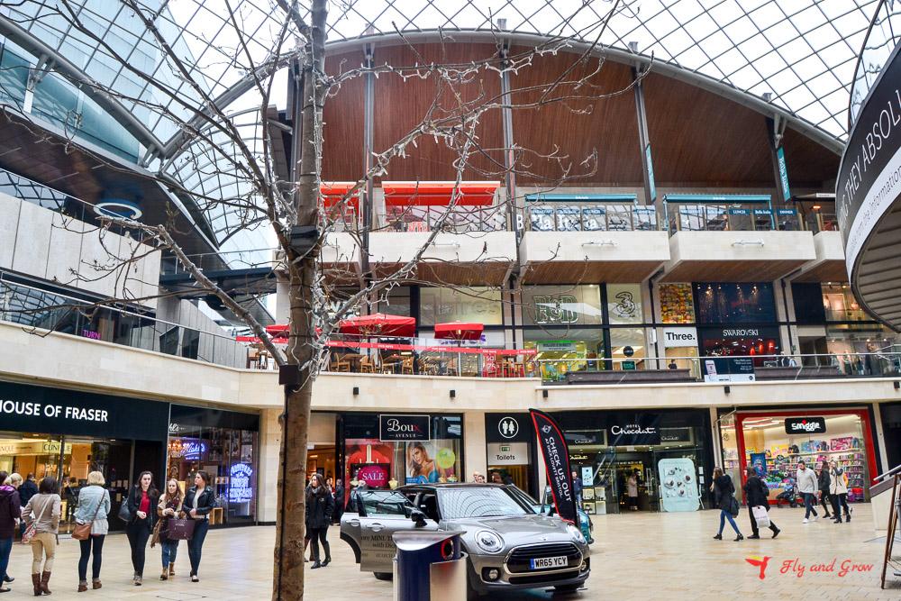 centro comercial de Bristol