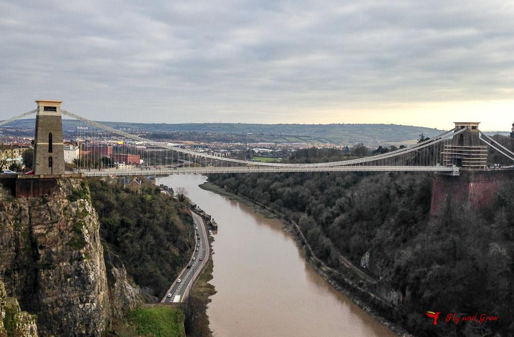 suspension bridge de Bristol