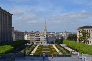 Monts des Arts. Bruselas © Propiedad de Fly and Grow