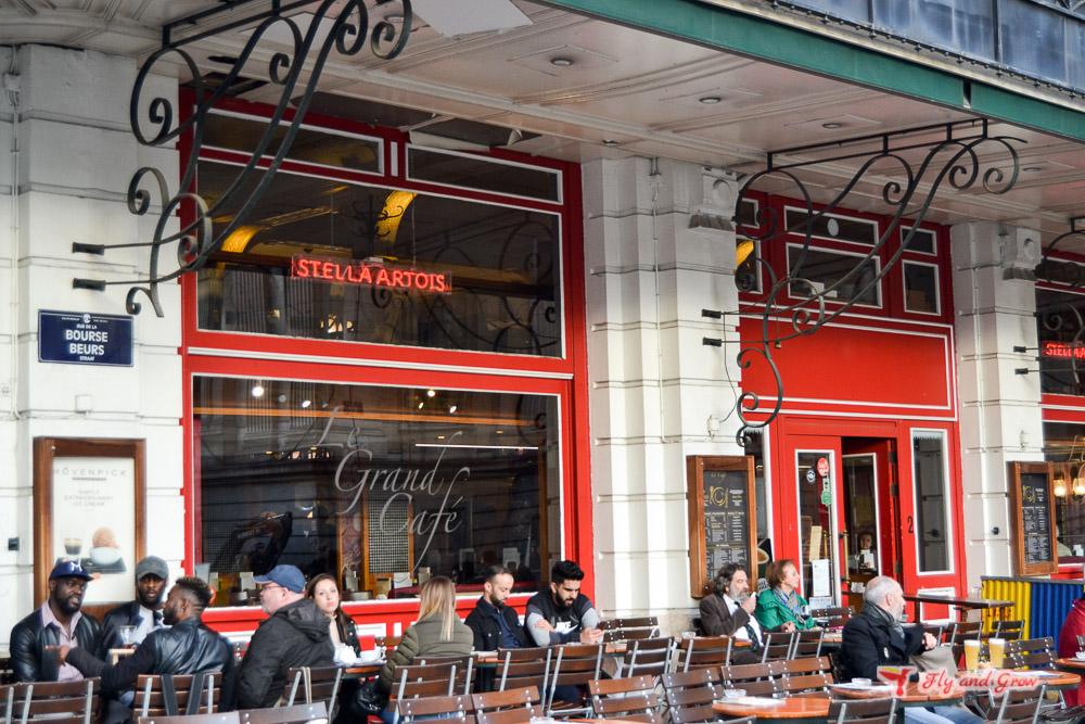 cervecería en el centro de Bruselas