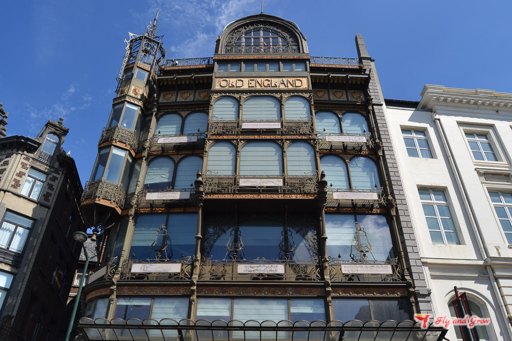 Edificio Art Nouveau Bruselas