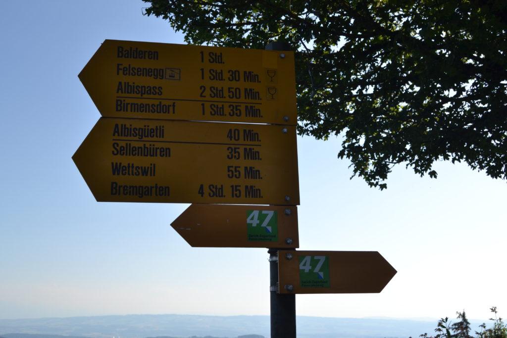 Rutas desde Uetliberg © Propiedad de Fly and Grow