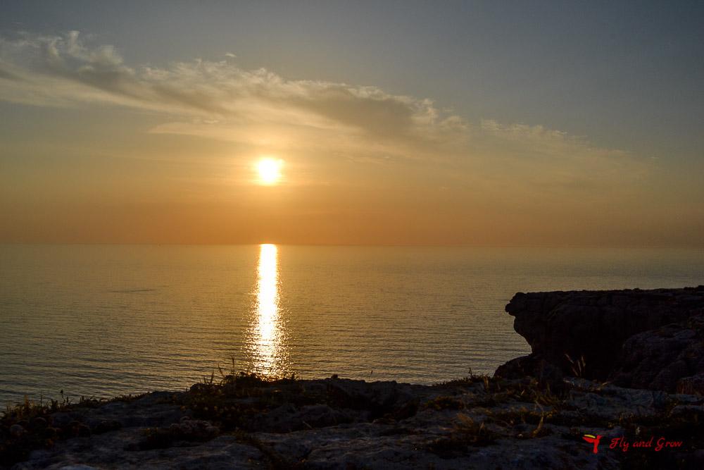 Atardecer en el Cabo de Barbaria