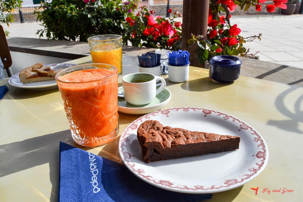 Desayuno en Formentera