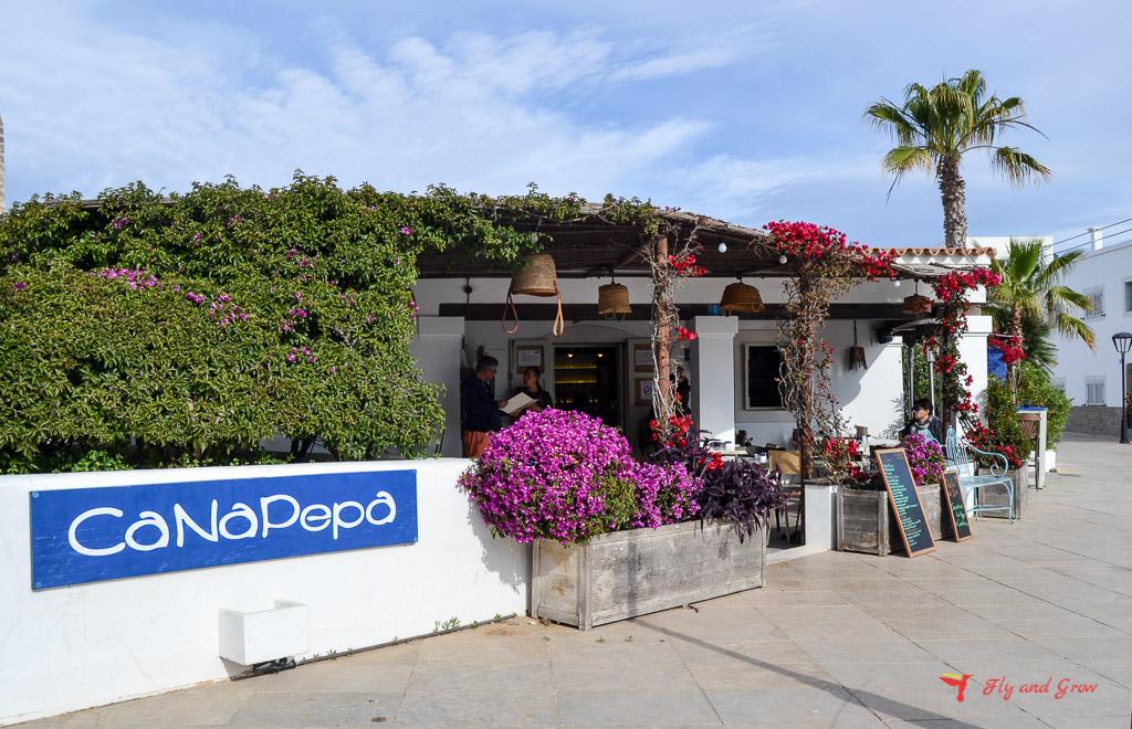 Restaurante de Formentera