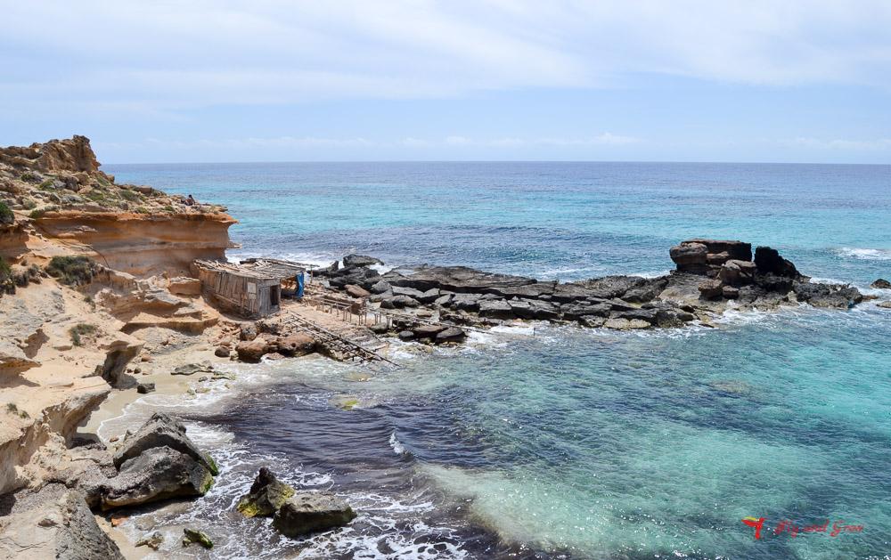 Calo des Mort, Formentera