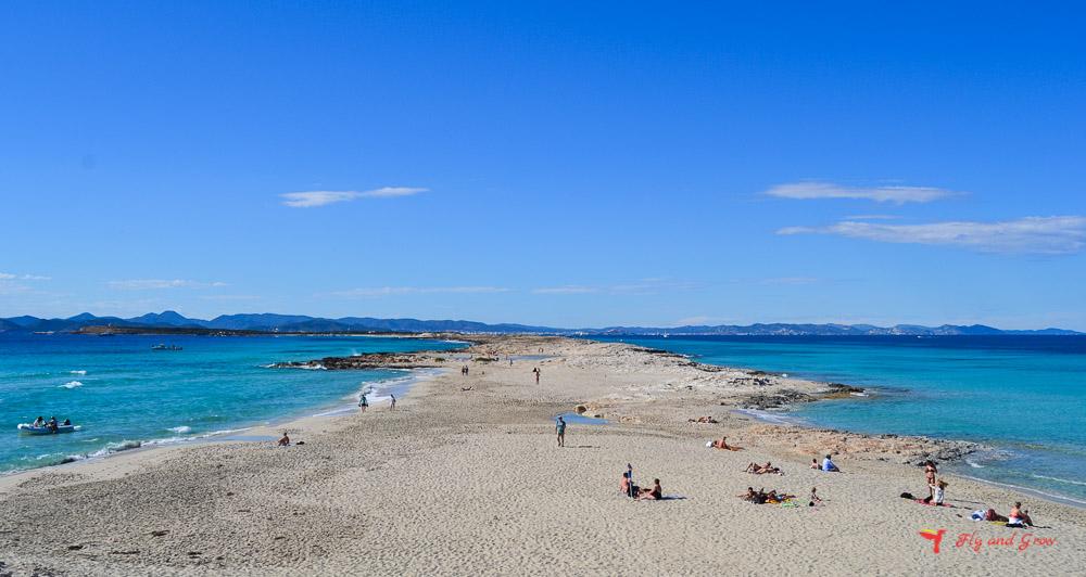 Playa de Illetas, Formentera
