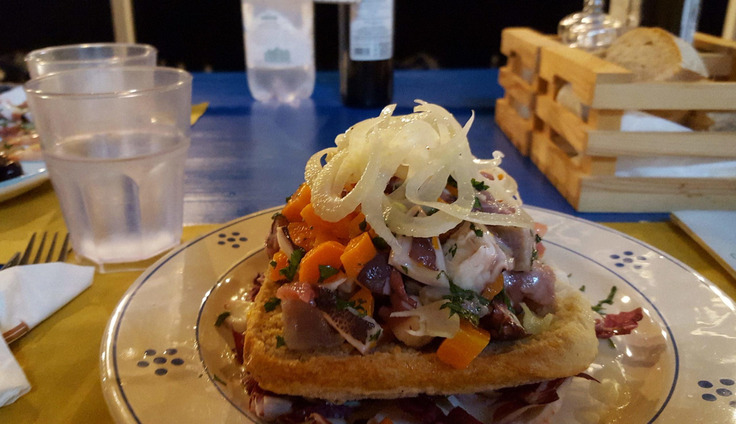 comer en Puglia