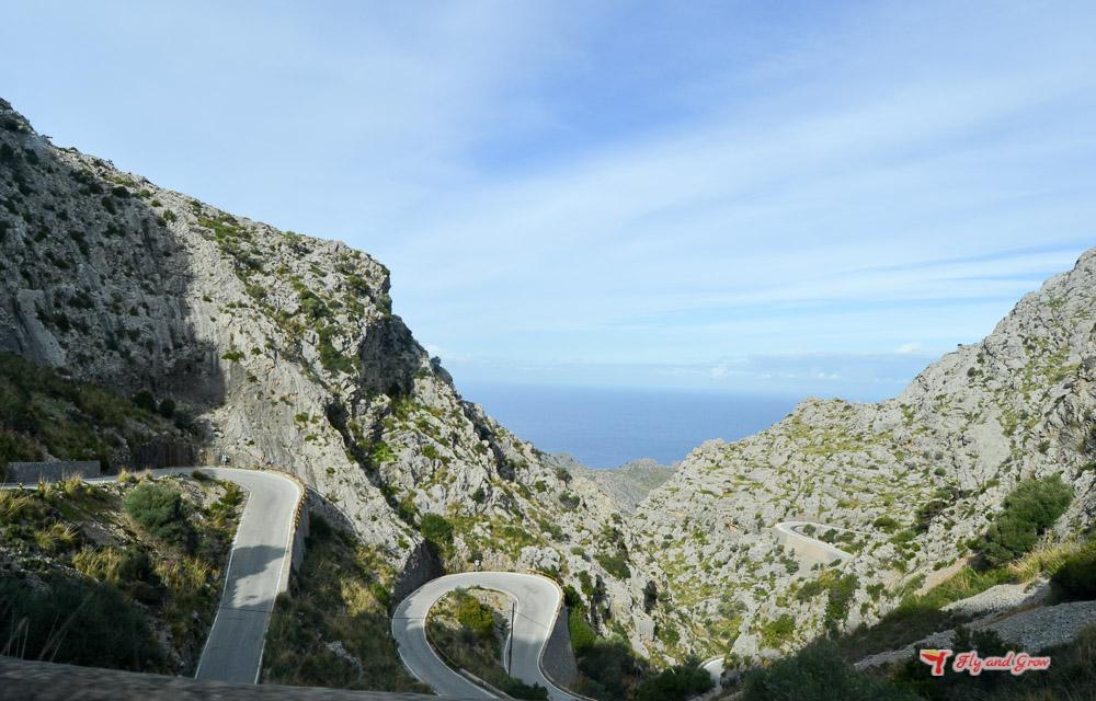 carretera de Sa Calobra