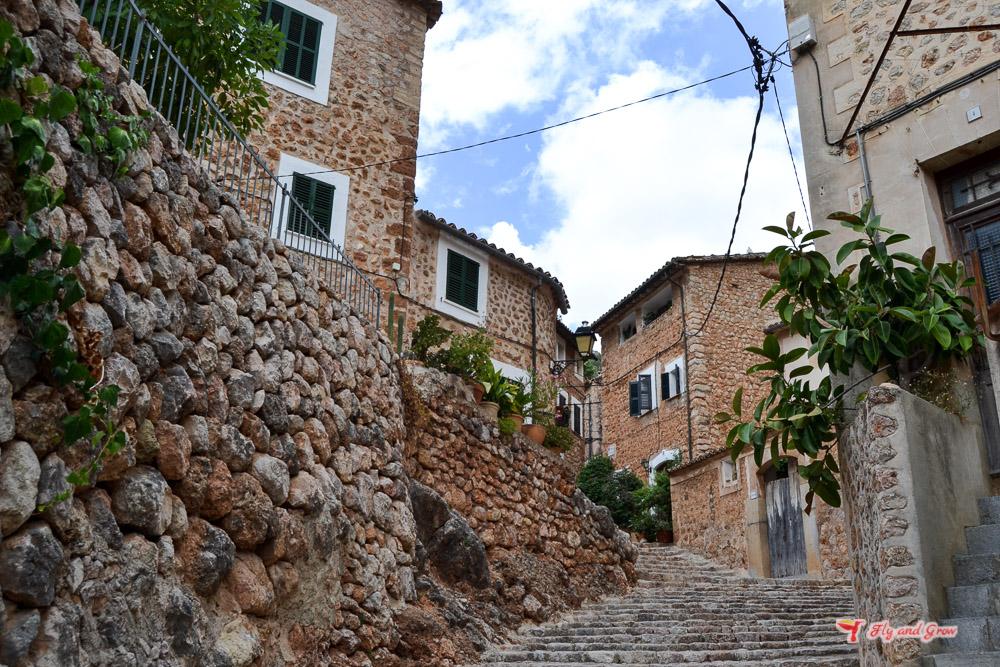 casas de piedra de Fornalutx