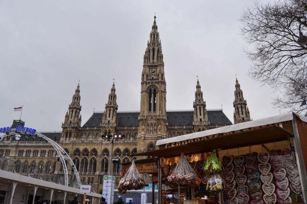 Mercado de Viena en un día