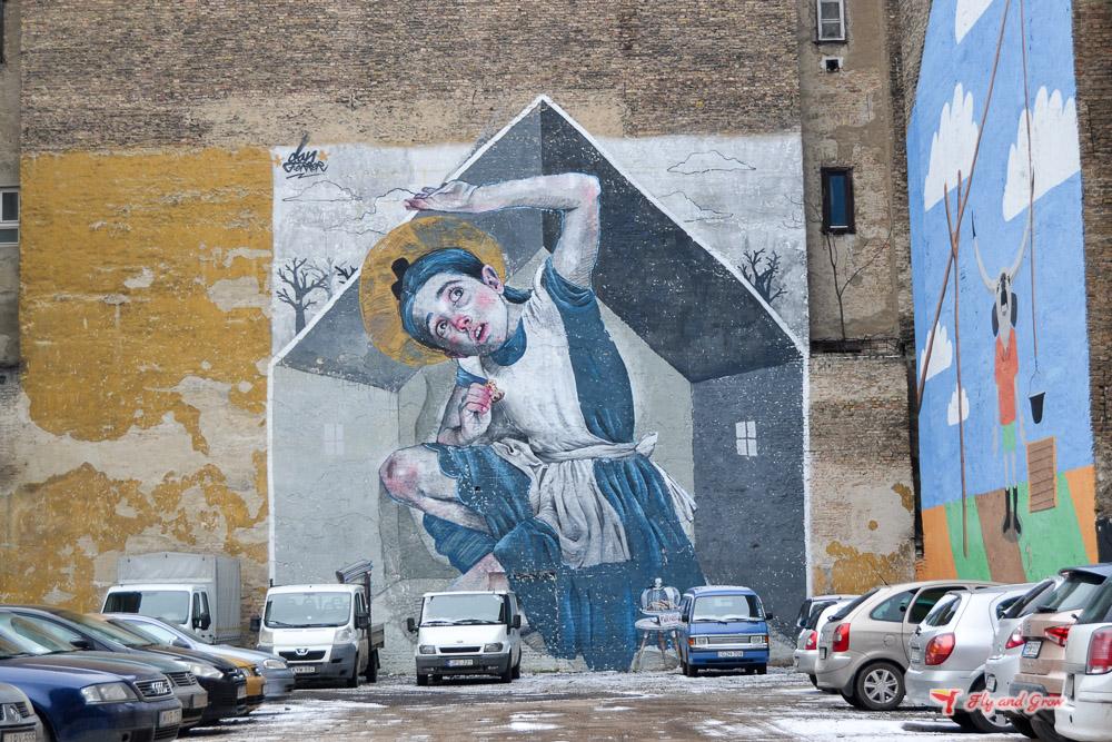 street art que ver en Budapest