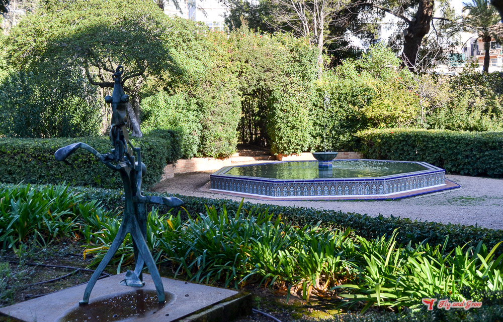 arte en los Jardines de Marivent