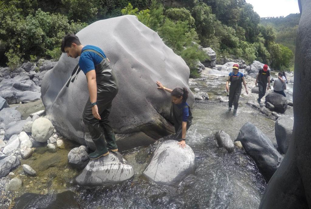 Trekking rio Alcantara