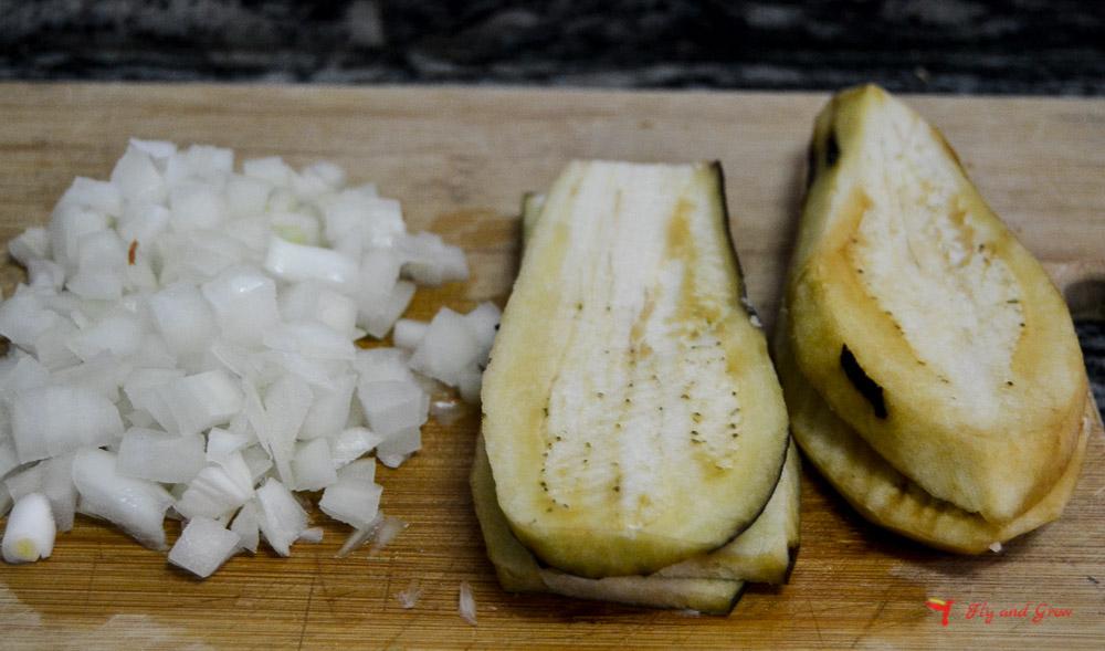 Ingredientes parmigiana