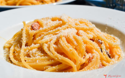 Receta de espaguetis a la carbonara [la original]