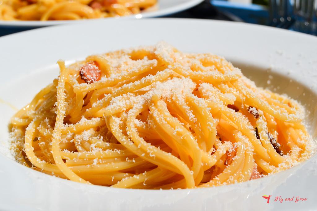 receta de pasta a la carbonara