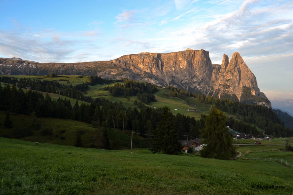 Amanecer en Dolomitas