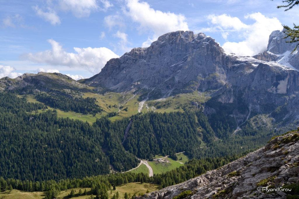 Ruta de ascenso al monte Montelazzo