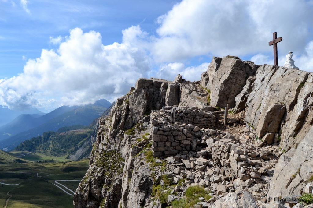 Primera Guerra Mundial en Monte Castellazzo