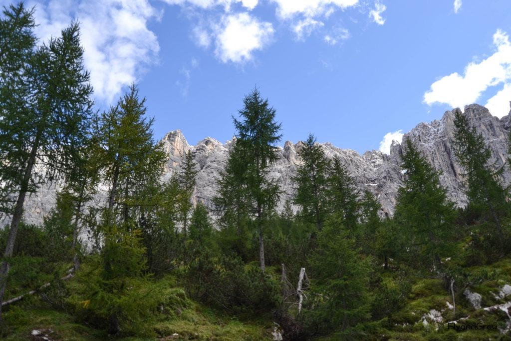 Ruta en los Dolomitas