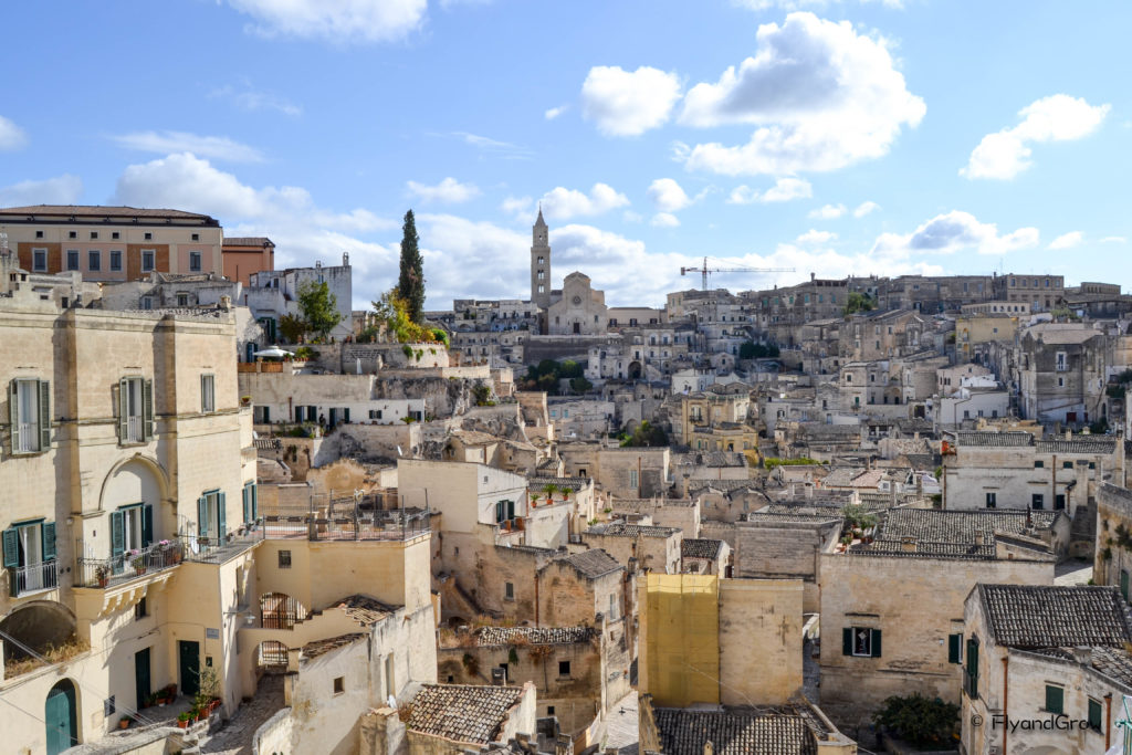 Vista de Matera