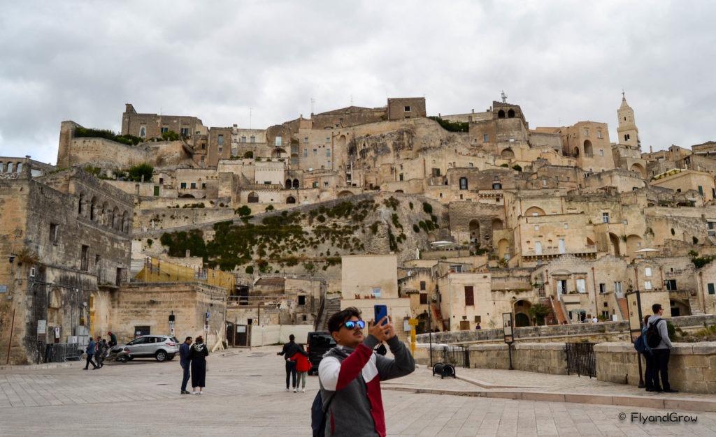 Zona antigua de Matera