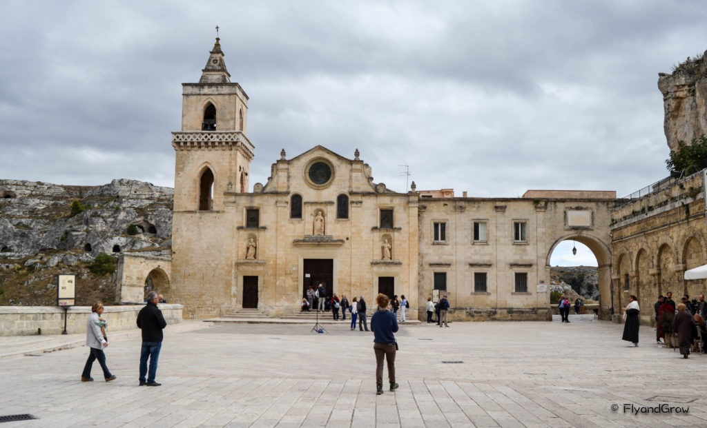 Fachada de la iglesia de San Pietro Caveoso