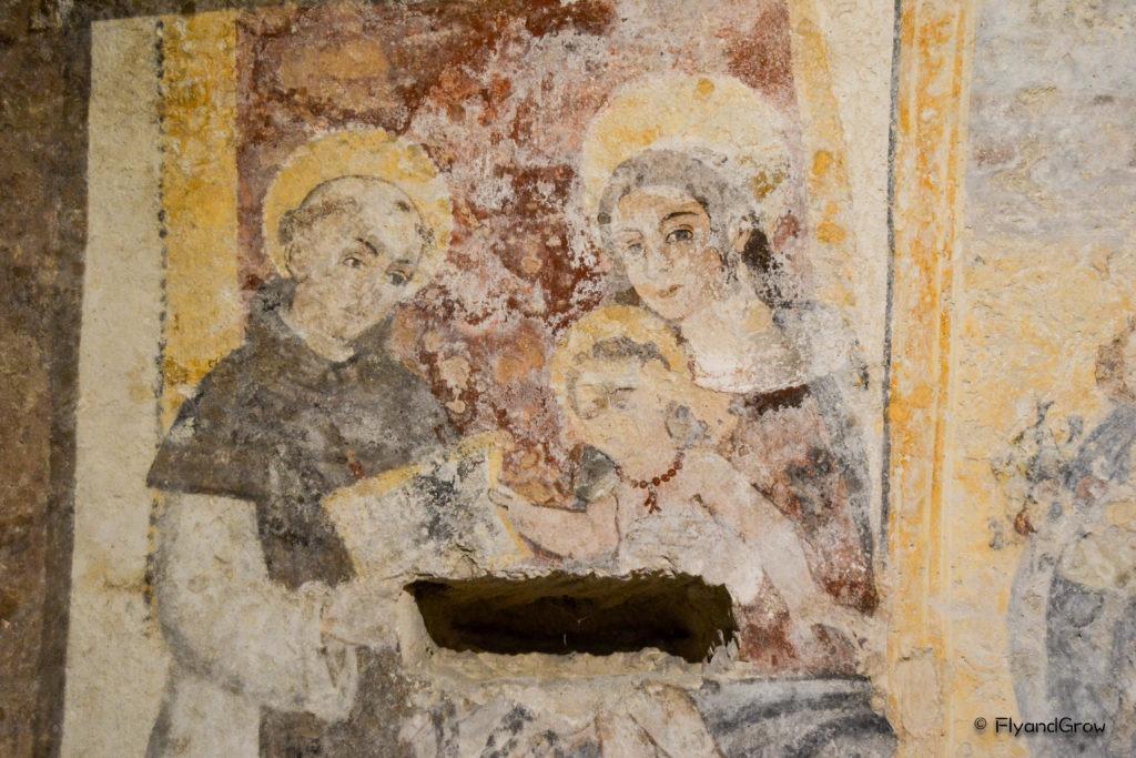 Frescos en el Convento de San Agustin
