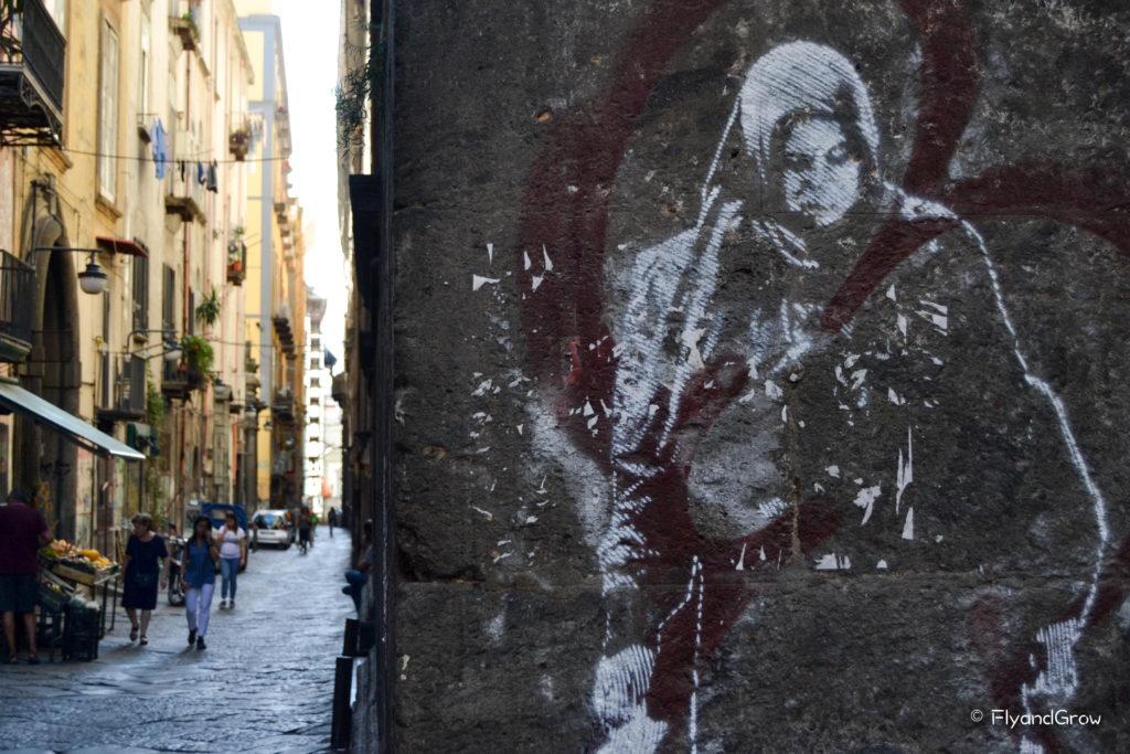 street art en Nápoles