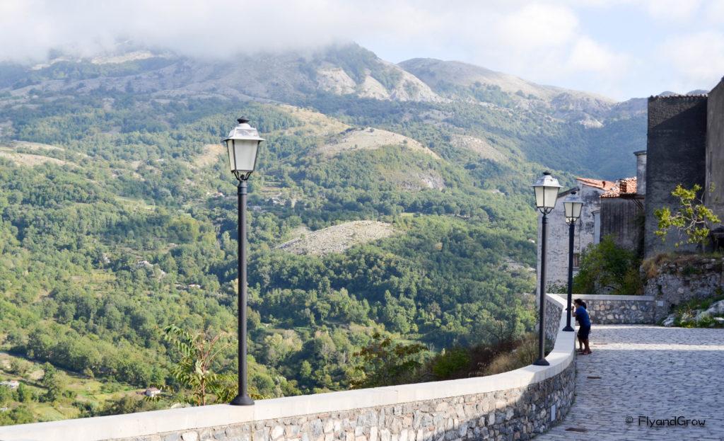 Aieta, pueblo bonito de Basilicata