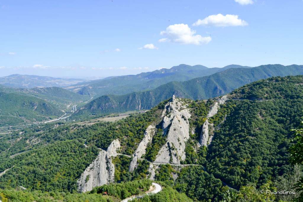 Dolomiti Lucane en Basilicata