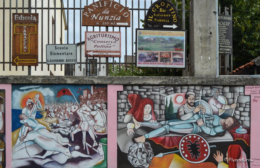 San Costantino Albanese en Basilicata