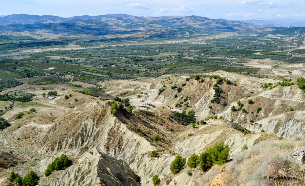 Calanchi en Basilicata