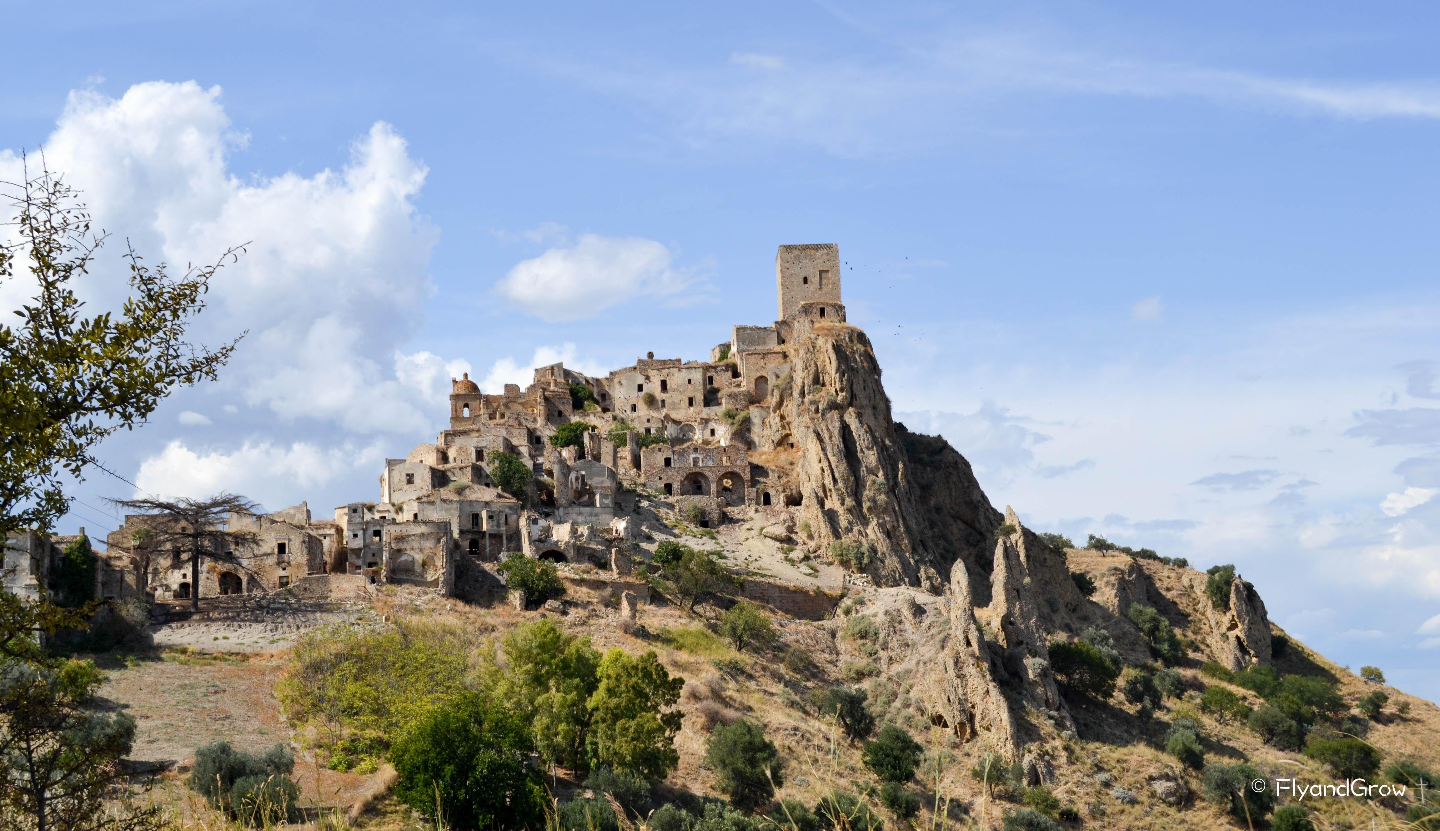 Los 10 pueblos fantasma en Italia más sorprendentes