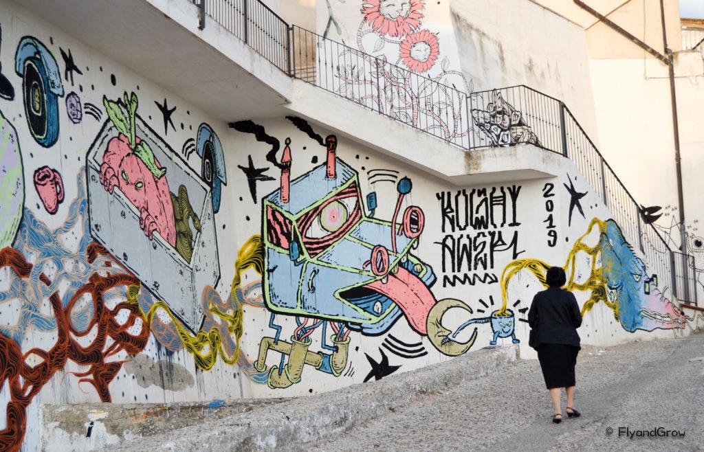 Street art Pisticci