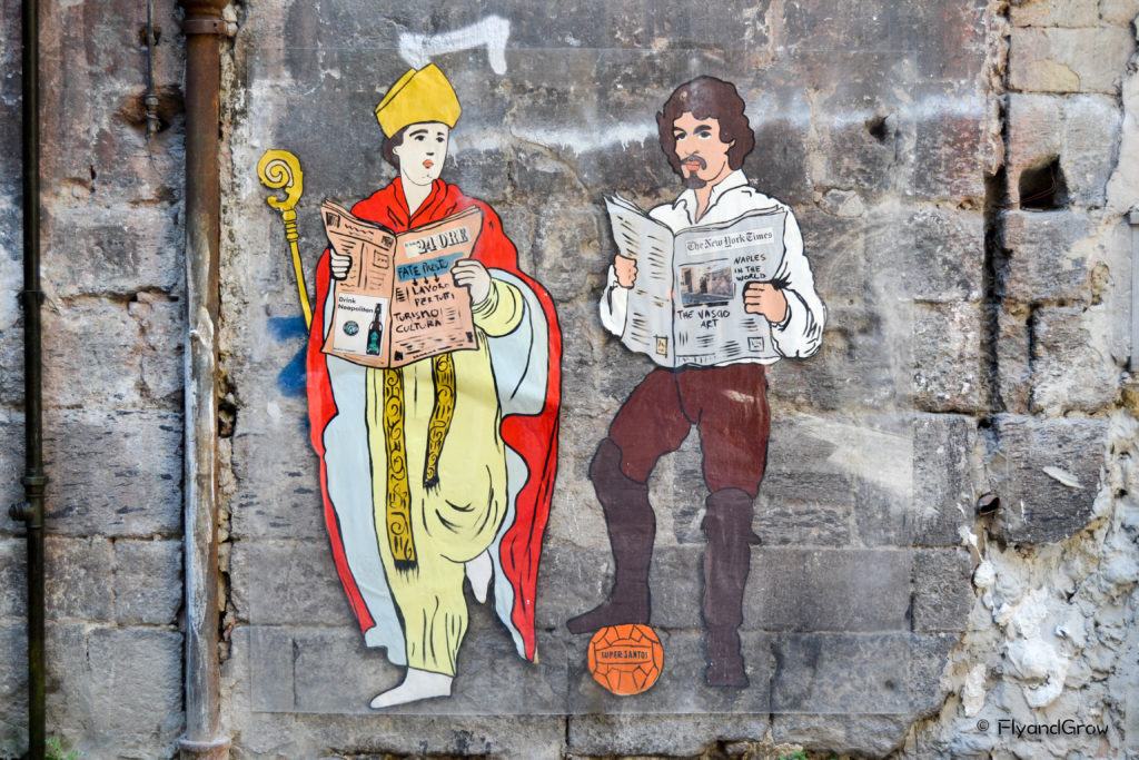 Street art Nápoles