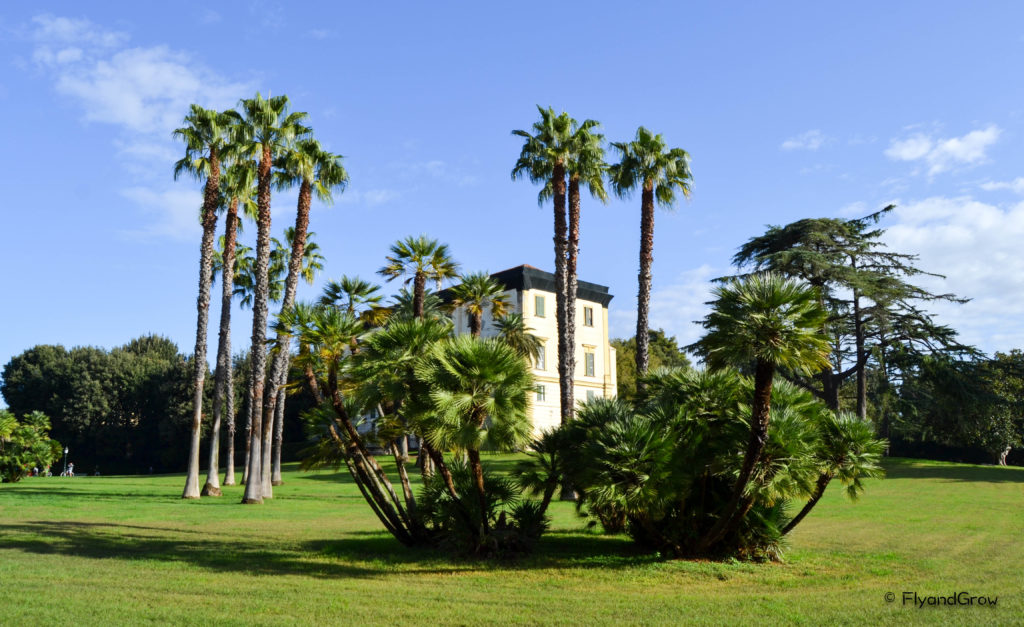 Parque de Capodimonte en Napoles