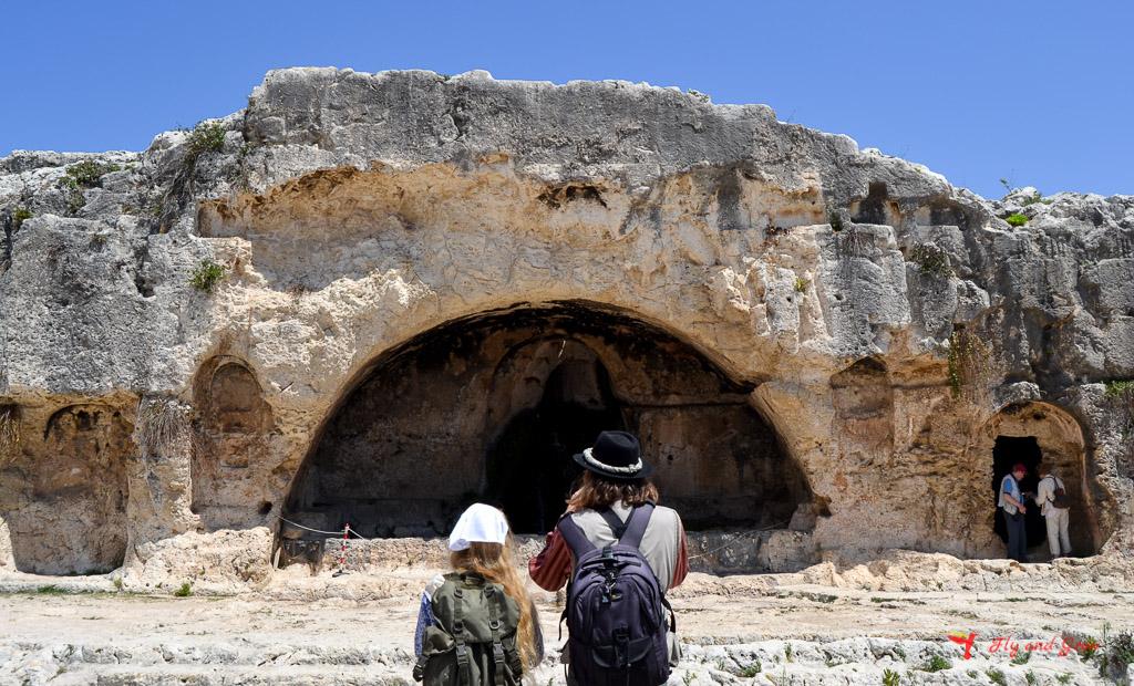 guía visitar por libre en Parque Arqueológico de Neapolis