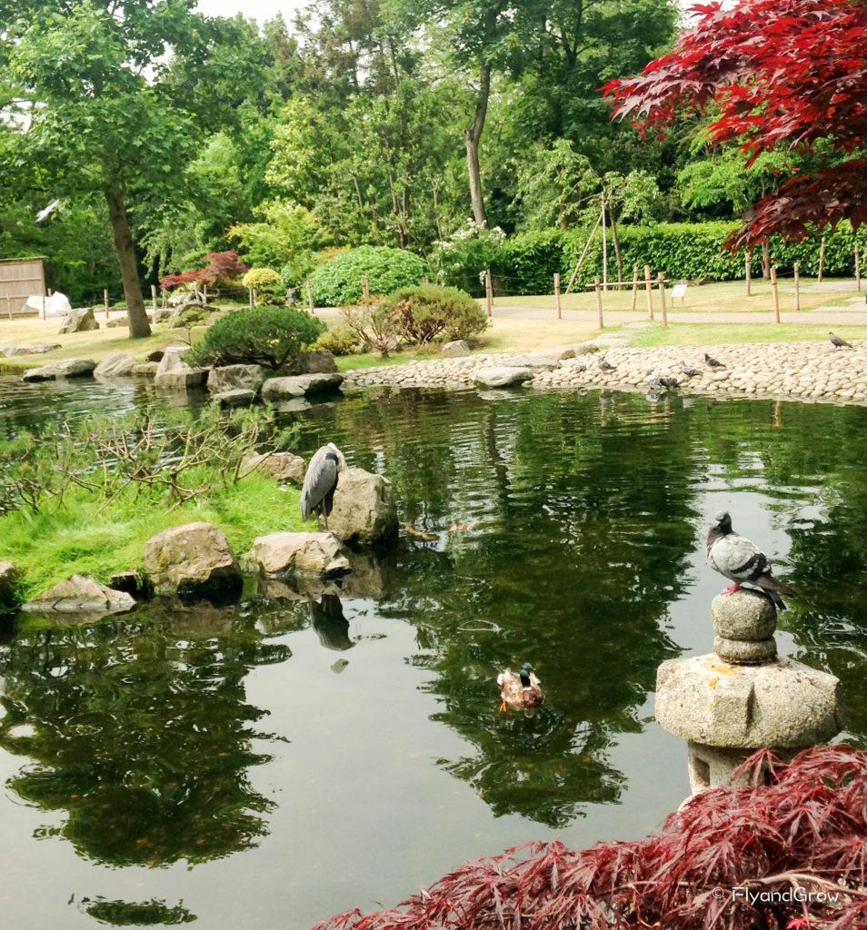 Jardines de Tokio, Londres