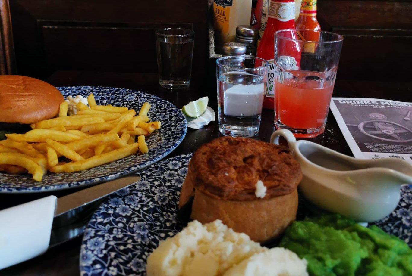 Comida pub londinense